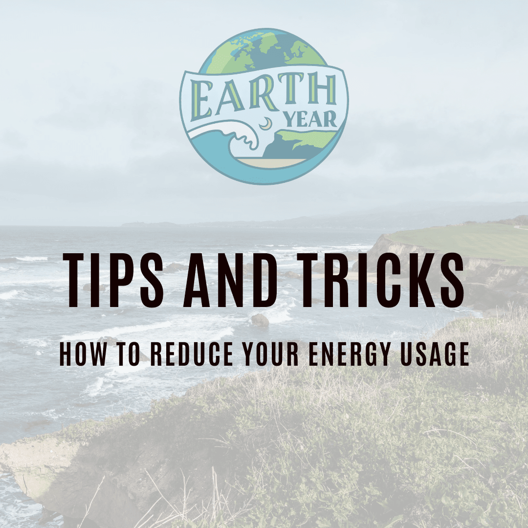 Tips and Tricks to conserve energy