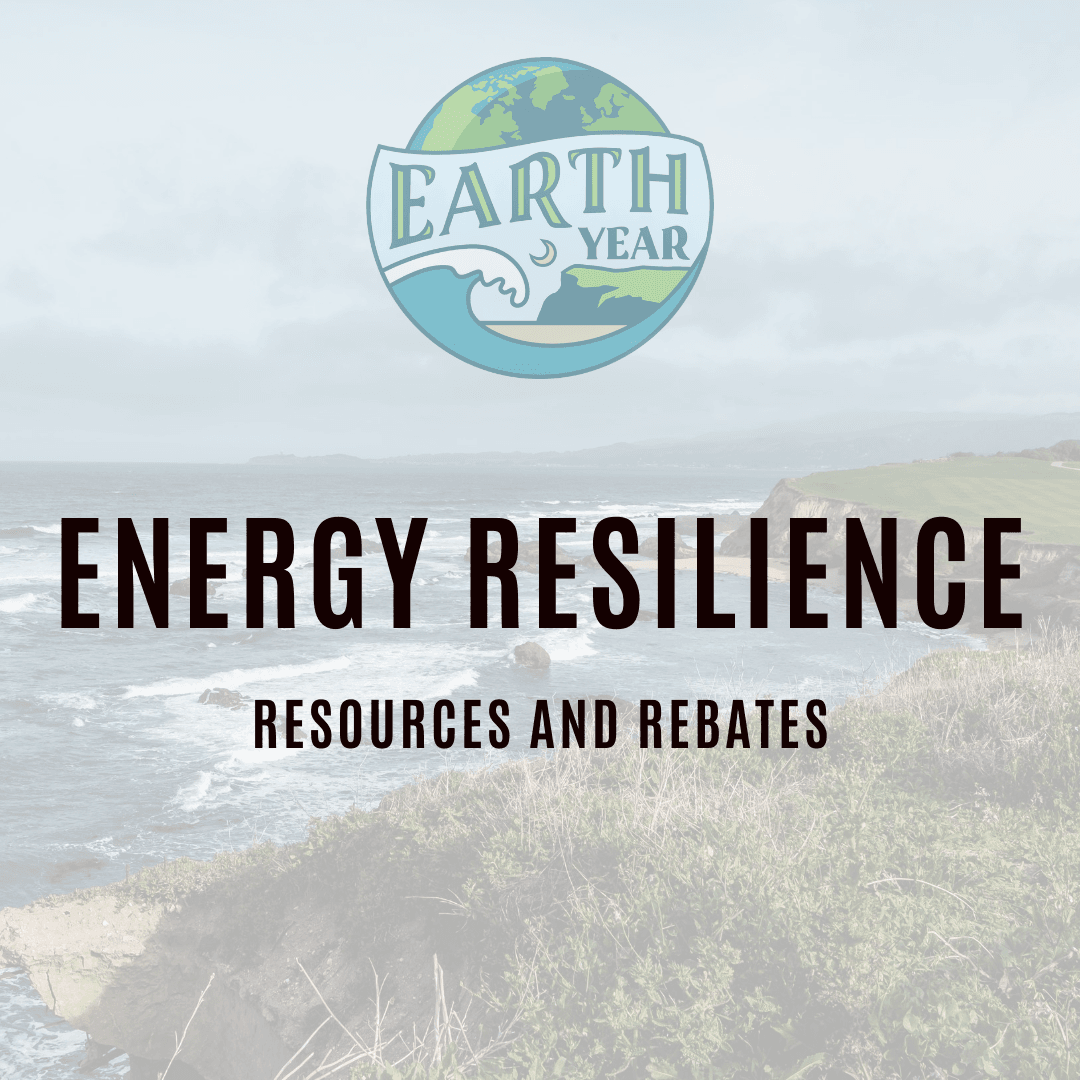 energy resilience programs and rebates